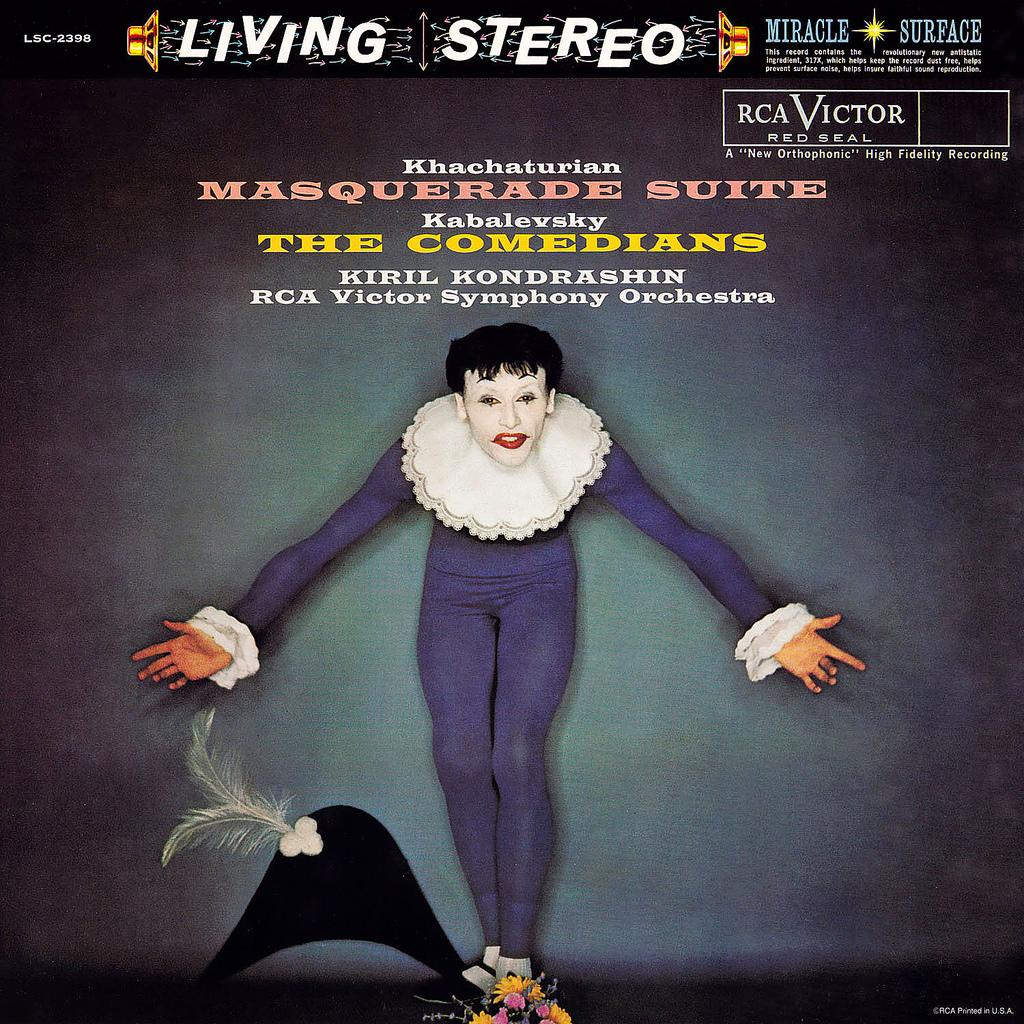 LP Cover Art « Masquerade / The Comedians