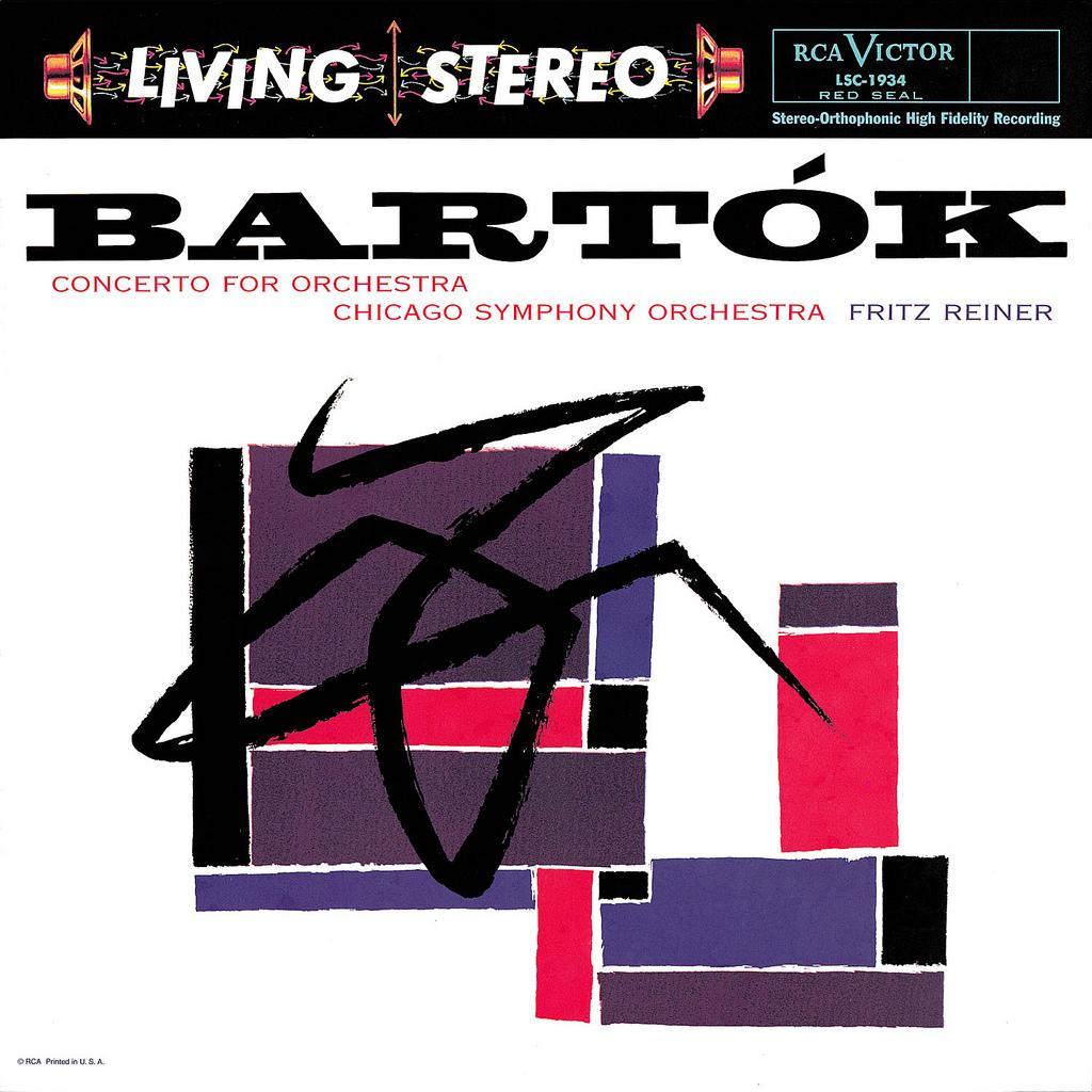 LP Cover Art « Concerto for Orchestra