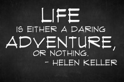 Piccsy :: Inspiring Quote by Helen Keller