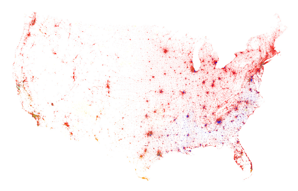 All sizes | Contiguous United States, Census 2010 | Flickr - Photo Sharing!