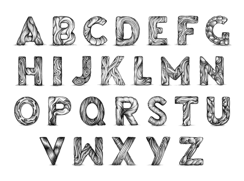 Typeverything.com - Organic alphabet by Bart... - Typeverything