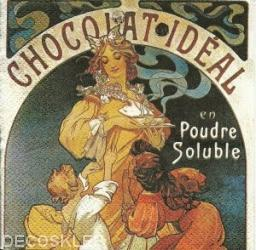 Serwetka 25x25 Chocolat ideal