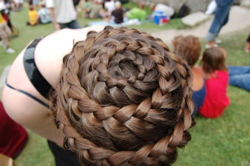 wheel braid - StyleCraze