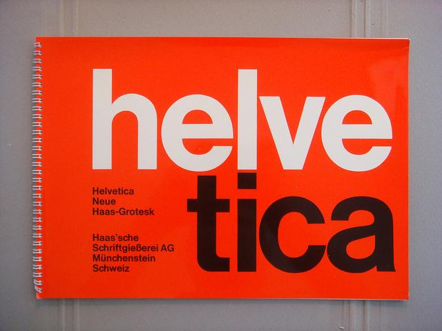 Helvetica / Neue Haas Grotesk specimen book | Flickr - Photo Sharing!