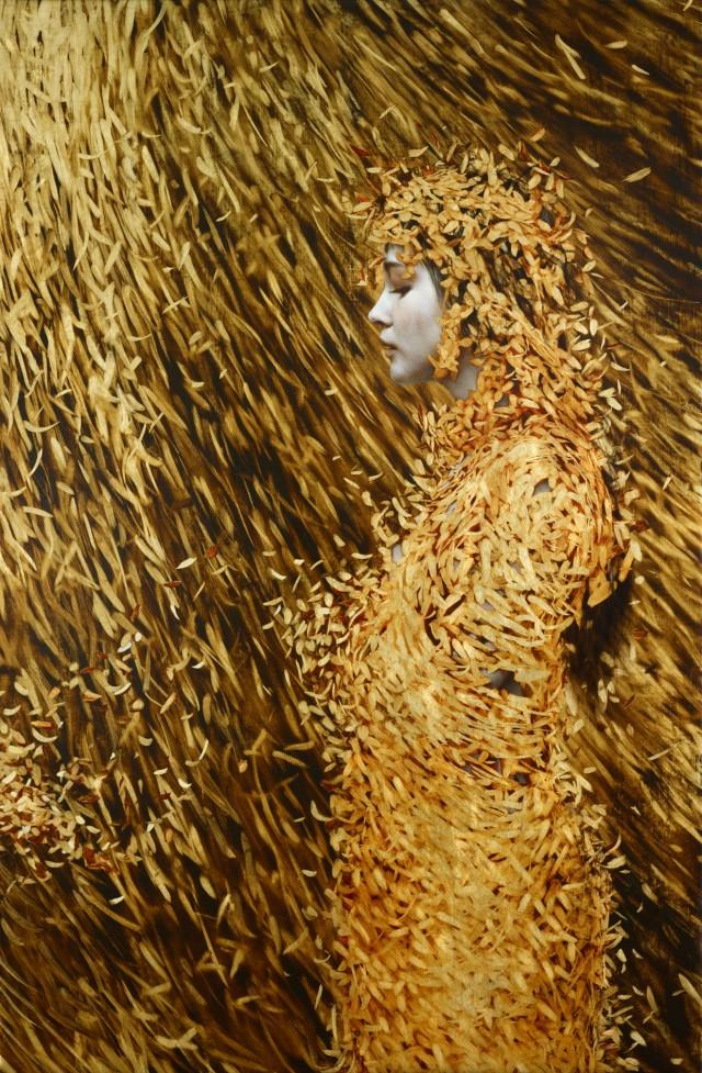 Leaf Paintings by Brad Kunkle - My Design Stories