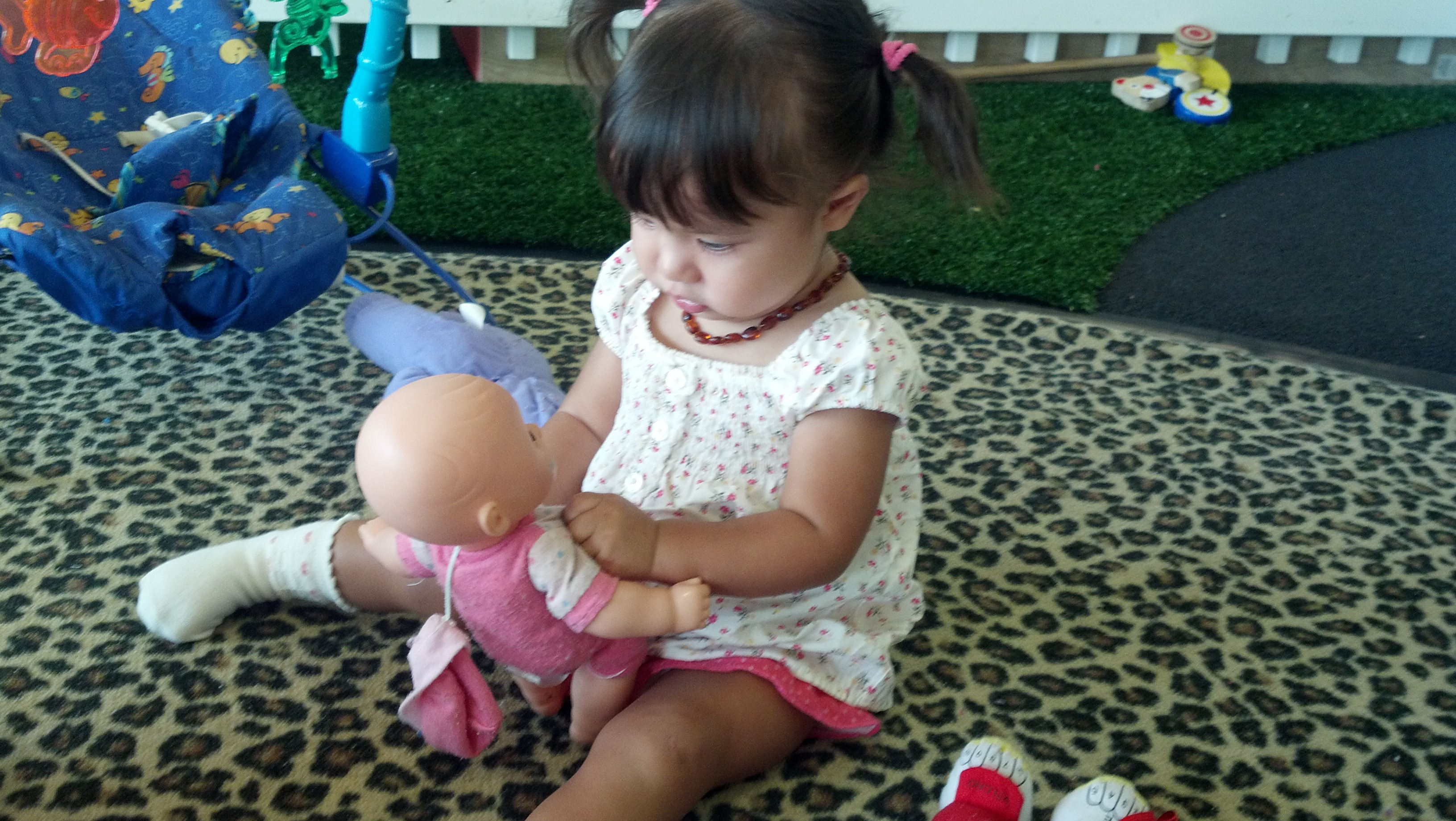 Keiko's new obsession with dolls
