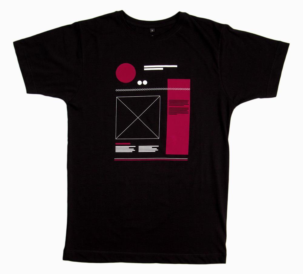 WIREFRAME - black shirt | NATRI - Shirt Label - Shop
