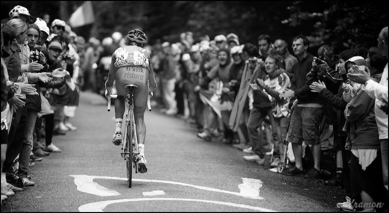 Sylvester Szmyd up the Mur de Pe?gue?re | Flickr - Photo Sharing!