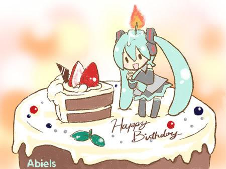 Hatsune miku feliz cumpleac3b1os image by abiels3 on Photobucket