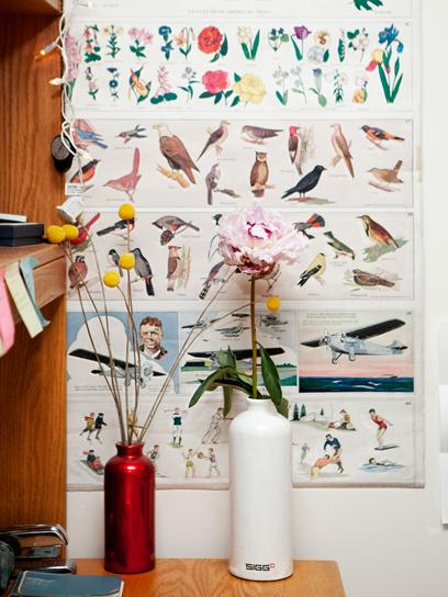 Tour College Student Augusta Dayton's Dorm Room: A Room of My Own: teenvogue.com