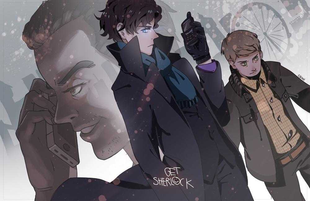 Chiou | Get Sherlock Poster | Online Store Powered by Storenvy
