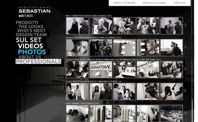 Gestion de Projet Web pour Sebastian Professional via Proximity BBDO en Freelance > Creasenso