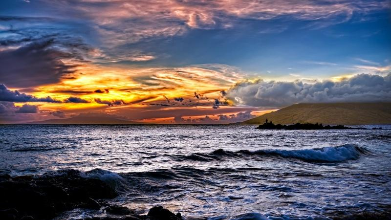 sunrise,sunset sunset sunrise clouds landscapes nature sea waves skyscapes land 1920x1080 wallpaper – sunrise,sunset sunset sunrise clouds landscapes nature sea waves skyscapes land 1920x1080 wallpaper – Waves Wallpaper – Desktop Wallpaper