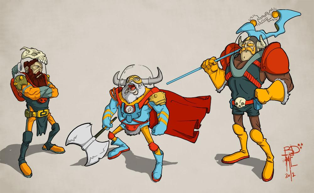 Space-Vikings by Everett - Bryndon Everett - CGHUB