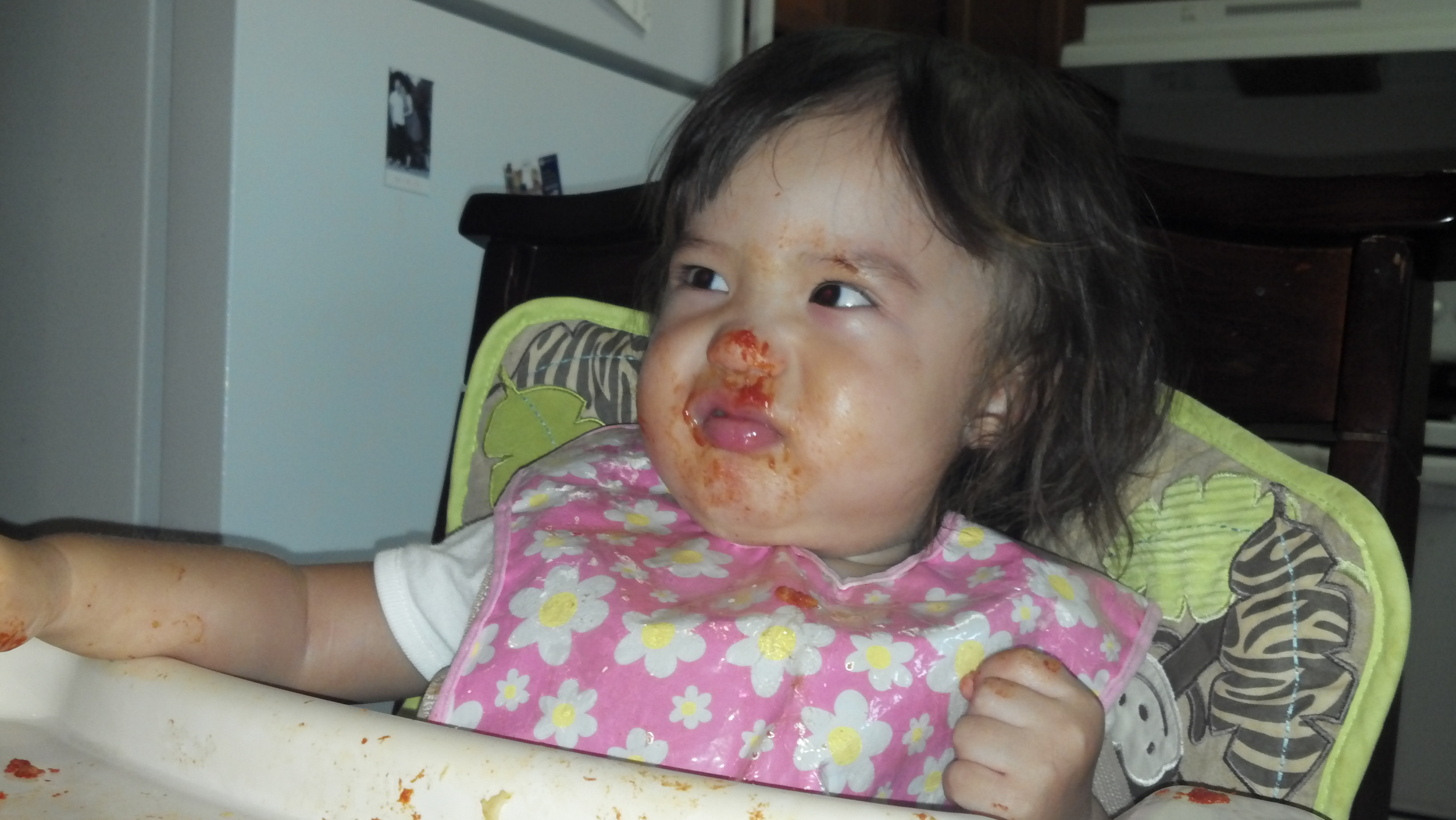 Crazy Pizza face!