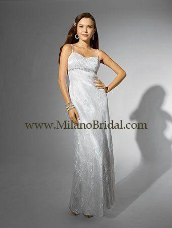 Buy Alfred Angelo 16707 Niki White Collection Price Cheap On Milanobridal.com