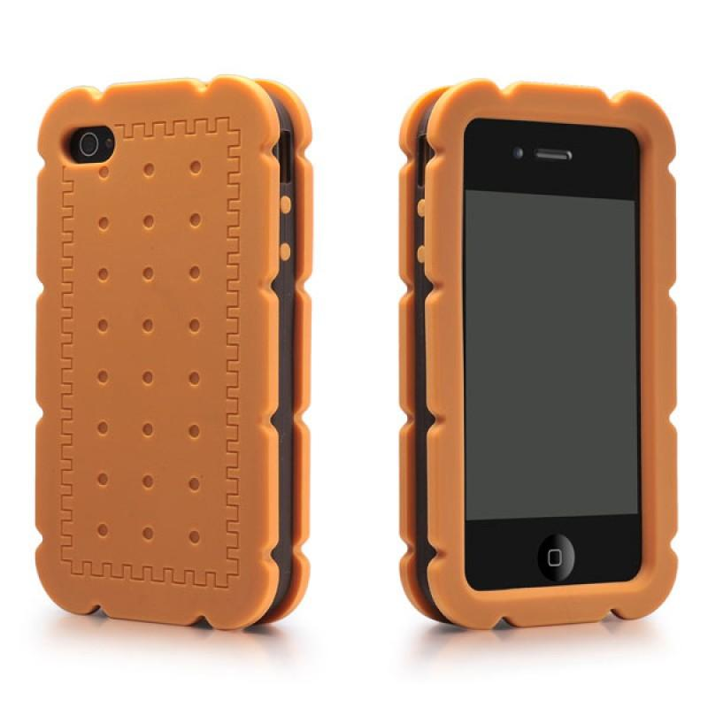 Biscuit Cream Sand iPhone 4/4S Silicone Case