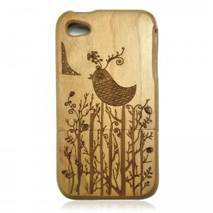 Cherry Wood IPhone4/4s Case-Lovely Bird