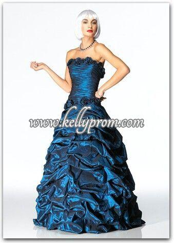 Discount Alyce Satin Rouge Prom Dress 3098 - $236.40