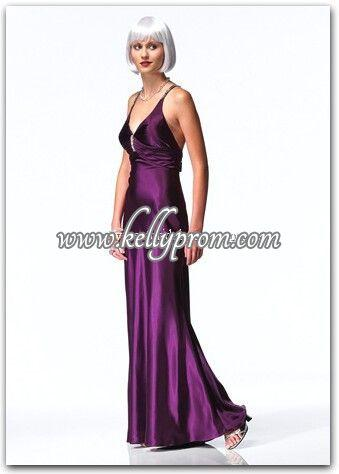Discount Alyce Satin Rouge Prom Dress 3123 - $229.00