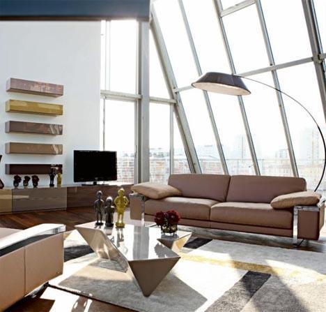 Colorful Furniture Sets for Creative Living Room Interiors | Designs & Ideas on Dornob