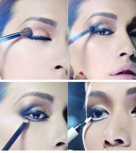 Office party eye makeup - StyleCraze