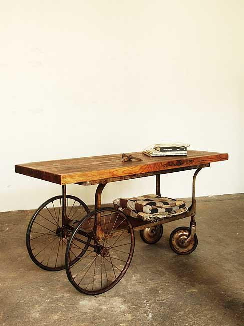 Turn of the Century Medical Cart | Strawser & Smith