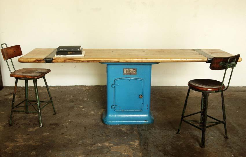"""Illinois"" console table | Strawser & Smith"