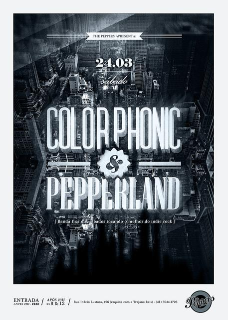 Poster / Colorphonic + Pepperland. | Flickr - Photo Sharing!
