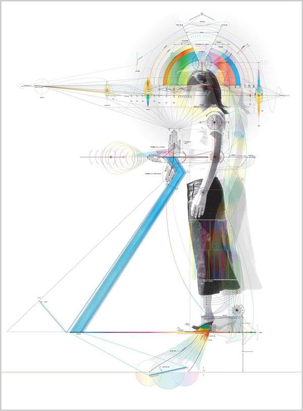 Portraiture in Blueprint? Min Jeong Ahn Diagrams Emotionality - Enpundit