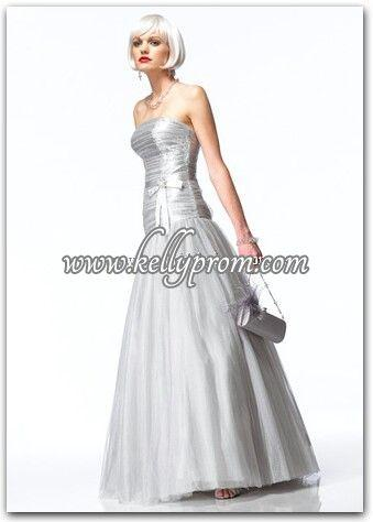 Discount Alyce Satin Rouge Prom Dress 3125 - $263.20