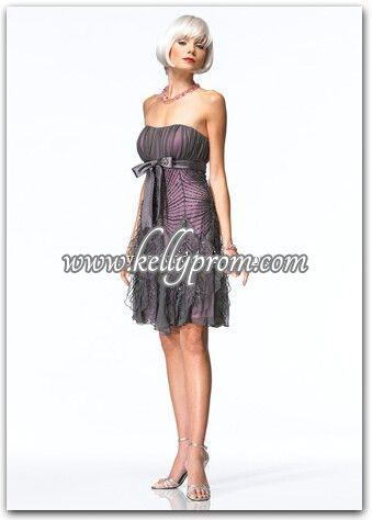 Discount Alyce Satin Rouge Prom Dress 3128 - $259.20
