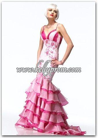 Discount Alyce Satin Rouge Prom Dress 3130 - $282.40