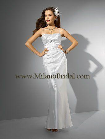 Buy Alfred Angelo 16708 Niki White Collection Price Cheap On Milanobridal.com