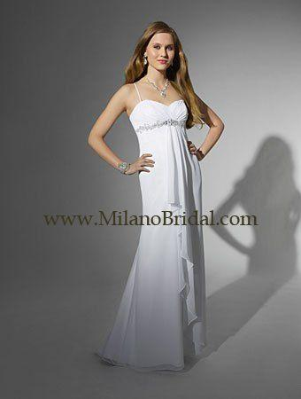 Buy Alfred Angelo 16714 Niki White Collection Price Cheap On Milanobridal.com
