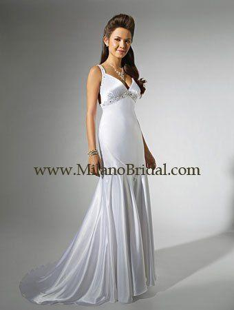 Buy Alfred Angelo 16717 Niki White Collection Price Cheap On Milanobridal.com