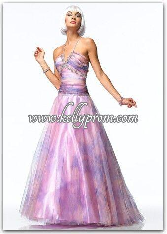 Discount Alyce Satin Rouge Prom Dress 3164 - $254.04
