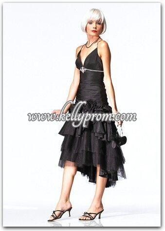 Discount Alyce Satin Rouge Prom Dress 3176 - $268.00