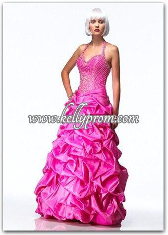 Discount Alyce Satin Rouge Prom Dress 3177 - $289.04