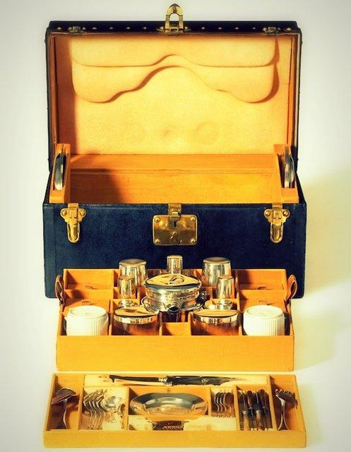 Fancy - Tea Trunk by Louis Vuitton