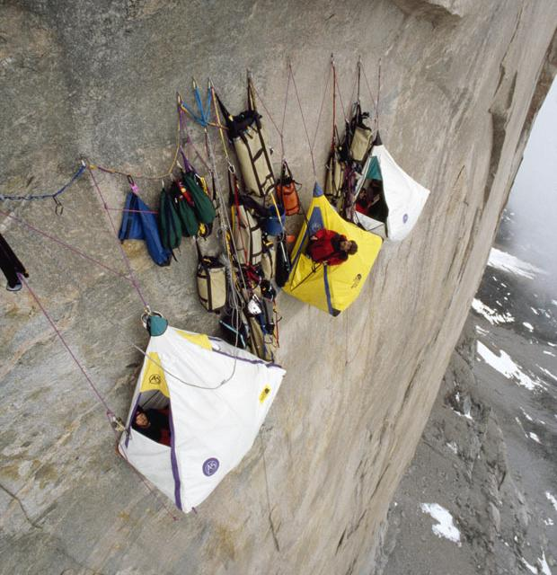 Fancy - Extreme Cliff Camping