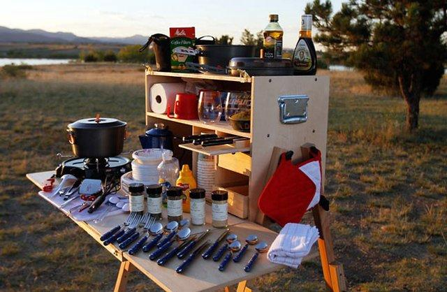 Fancy - Outdoorsman Camp Kitchen