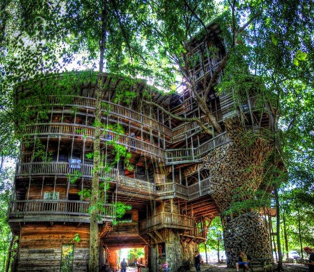 Fancy - The Minister's Treehouse @ Crossville, Tennessee