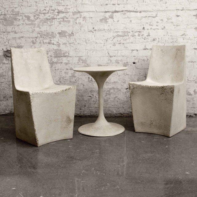 Fancy - Stone Dining Chairs by Zachary A. Design