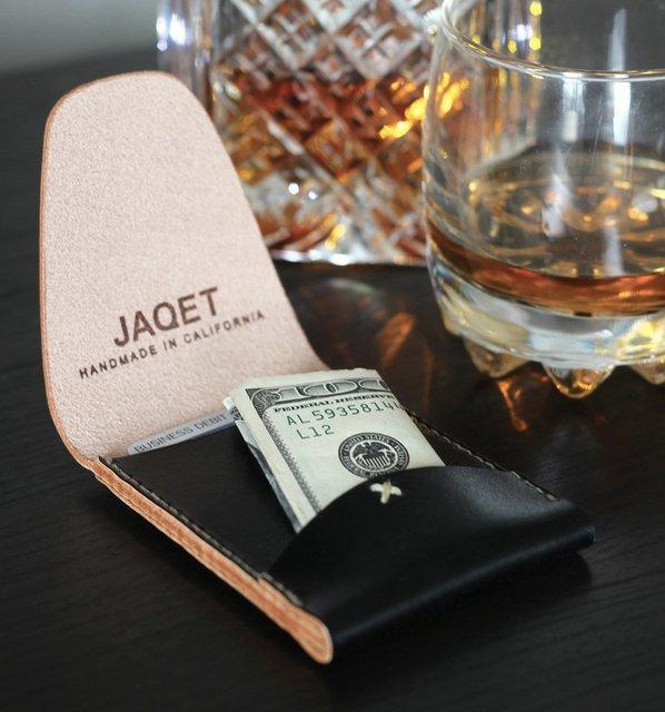 Fancy - Blaq Portrait Wallet by JAQET