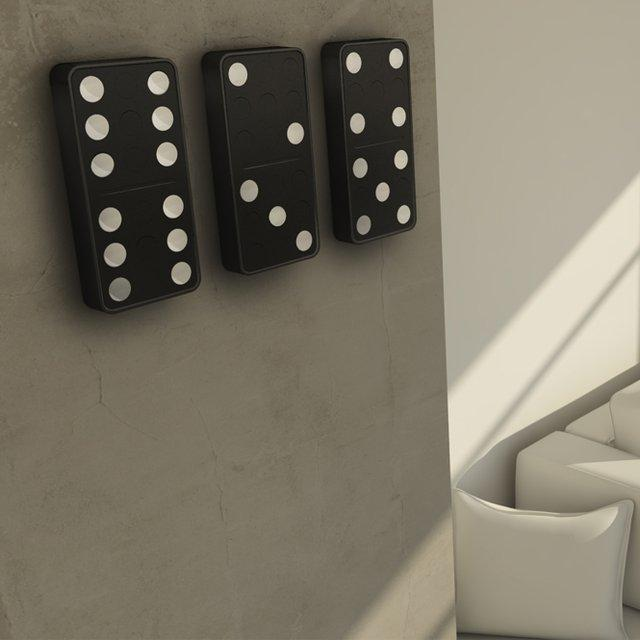 Fancy - Domino Clock by Carbon Design Group