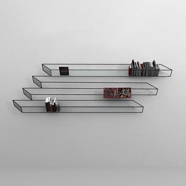 Fancy - Optical Illusion Bookshelf