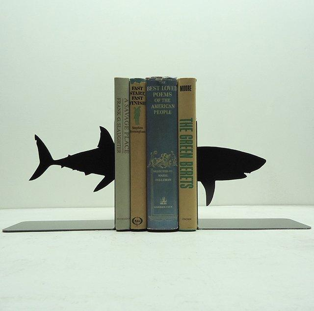 Fancy - Shark Bookends