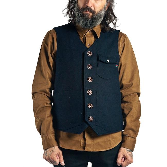 Denim Demon Vest Navydiscount sale voucher promotion code | fashionstealer