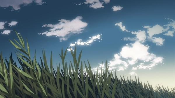 grass,animated grass animated makoto shinkai 5 centimeters per second drawn skyscapes 1920x1080 wallpaper – Grass Wallpapers – Free Desktop Wallpapers